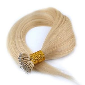 Blond-virgin-remy-hair-nano-ring-hair-extension