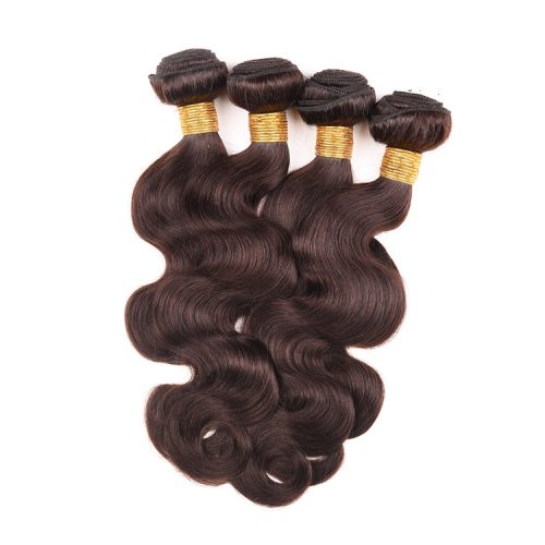 Body-wave-brown-color-virgin-remy-hair-weft