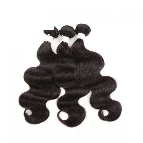 Natural-black-body-wave-virgin-remy-hair-weft
