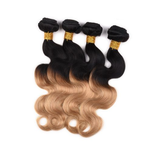 Ombre-color-body-wave-virgin-remy-hair-weft