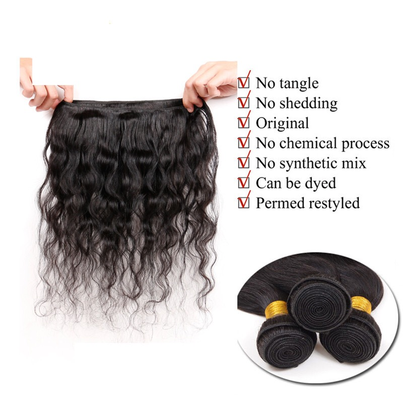 natural-hair weft-tangle-free