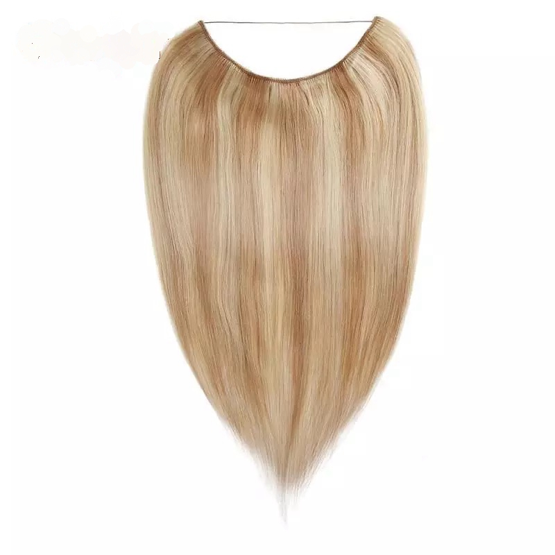 Piano Color Straight Virgin Remy Hair Flip In Hair Extension