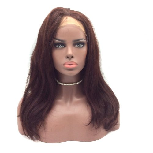 virgin-remy-hair-16-inch-red-99J-natural-straight-full-lace-wig